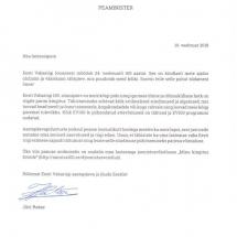 Peaministri õnnitlused Eesti Vabariigi 100. juubeli puhul